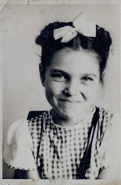 Mom, second grade, 1948.