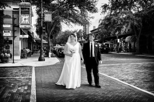 Wedding stroll, May 2012.
